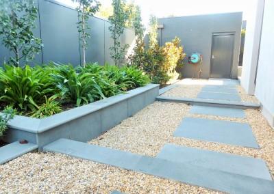 Paving & Garden Bed